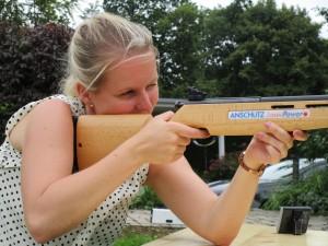 Lasergewehr Biathlon
